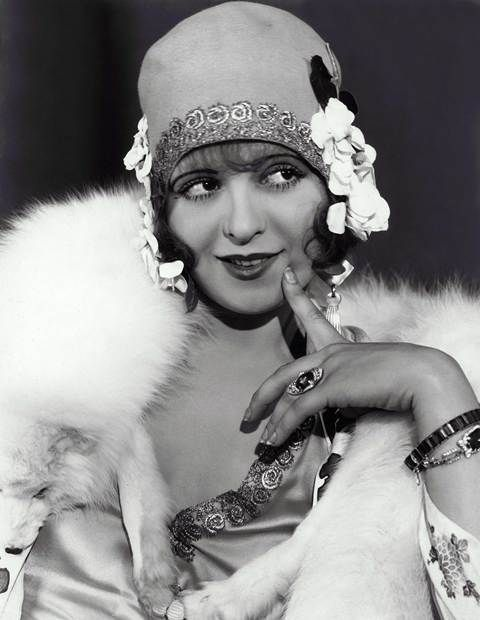 Bow, Clara (1928) Pers: Clara Bow Ref: XBO003BC Photo Credit: [ Paramount / The Kobal Collection ] Editorial use only related to cinema, television and personalities. Not for cover use, advertising or fictional works without specific prior agreement